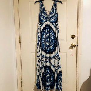 NWOT Hale Bob Maxi Dress Size Small